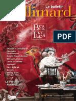 Bulletin 510 Gallimard