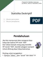 Slide02 - Statistika Deskriptif