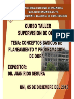 Planeamiento Programacion y Organizacion de La Obra-diplomado