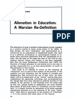 Alienation in Education