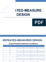 Repeated Measure Design