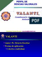 Presentación VALANTI