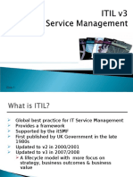 ITIL Management Overview