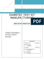 Section a Group 9 DiabetesTestKitManufacturing