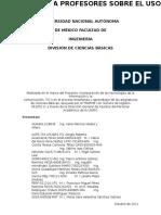 EncuestaDCB TICS 2012 1