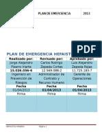 Plan de Emergencia Mineria.