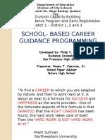School Based Career Guidance Programming