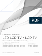 Manual Tv LG