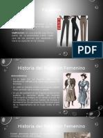 Breve Historia Pantalón Femenino