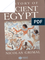 Grimal. History of Ancient Egypt