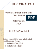 Industri Klor Dan Alkali