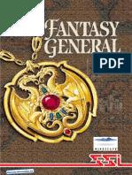 Fantasy General - Manual - PC