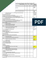 PE Essential Checklist for OSCE Part 1