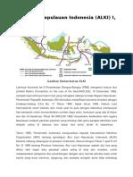 Alur Laut Kepulauan Indonesia (ALKI) I, II, III
