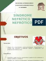 Sindrome Nefritico y Nefrotico