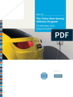 The China New Energy Vehicles Program