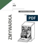 Instrukcja Obs Ugi Do Zmywarki WHIRLPOOL ADP 450 IX PL (Videotesty.pl)