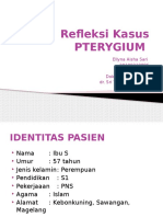 Refleksi Kasus Pterygium