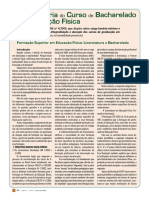 Carga Horária Bacharelado EDF