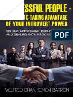 Successful People - Being You - Taking Advantage of Your Introvert Power