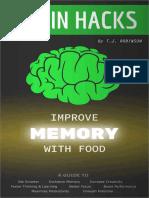Brain Hacks- Improve Memory With Food