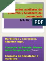 Agentes Auxiliares Del Comercio y Auxiliares Del Comerciante