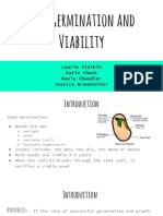 presentation  seed germination and viability