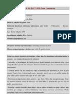 Ficha Dom Casmurro
