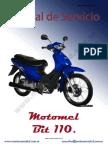Manual de Servicio 110