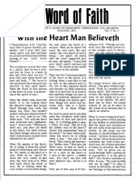 WOF 1971 - 01 January, With the Hear the Man Believeth
