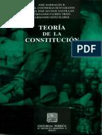 Teoria de La Constitucion Jose Barragan PDF