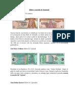 Billetes de Guatemala 2016