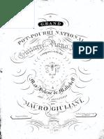 Giuliani - op 093, Grand Potpourri, ch + pfo, part ch