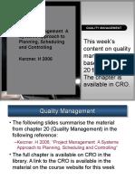 Quality Management - KreznerQM