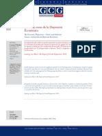 Causas y Curas de La depresion Económica