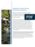 CI Adapting to Climate Change Freshwater Ecosystems 12 2009