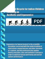 ergonomics and aestetics bicycle