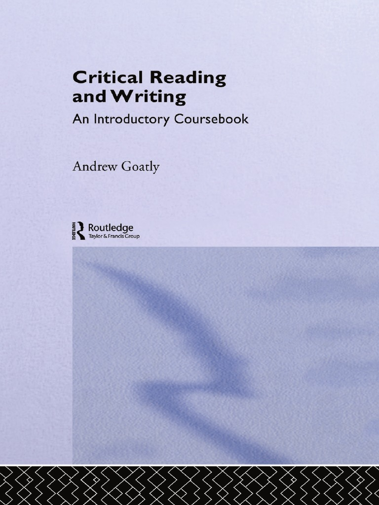 Crtical reading writing by andrew goatly subject grammar crtical reading writing by andrew goatly subject grammar stir frying fandeluxe Images