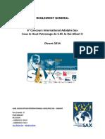 6 Cias - Reglement General - Definitif - Fr - Mis en Page
