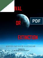 SURVIVAL OR EXTINCTION.pdf