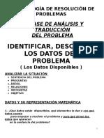 4 Ident y Descub Los Datos Del Problema