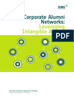 Survey Corporate Alumni Networks Summary English