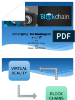 virtual reality and block chain
