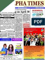 Alpha Times Neighbourhood Newspaper