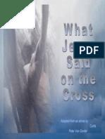 What Jesus Said on the Cross