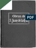 Obras de San Juan de la Cruz Tomo 3 Cantico Espiritual