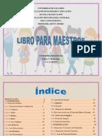 Libro Para Maestros. (Singular).
