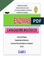 Clase 3 Enzimas 2011 Prof Ra 25-03