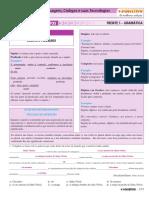 1.3. Português - Exercícios Propostos - Volume 1