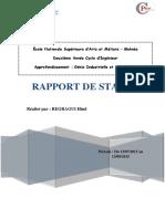 Rapport de Stage 2015 COTER PROD